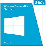 HP Windows Server 2012 Standard ROK 2CPU/2VMs [748921-B21] - Server Software Windows OS OEM